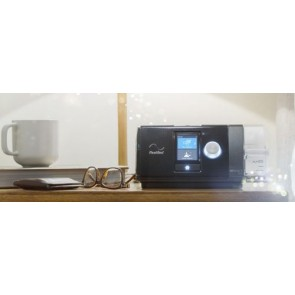 Standard CPAP device ResMed AirSense 10 Elite with Heated Humidifier HumidAire and  Nasal Mask Mirage FX ResMed